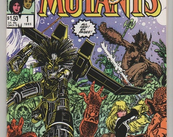 New Mutants Special Edition; V1, 1 Copper Age Comic Book.  NM+.  1985.  Marvel Comics