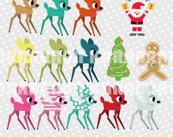 Bambi & Friends digital cliparts, digital images, printables, patterns, for cards/backgrounds [SCZ-013bambi]