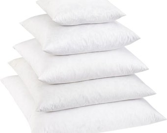 6 Sizes Available: Down Pillow Insert Feather Pillow Form Pillow Insert  Pillow Form Down Pillow Form Pillow Cushion Cushion
