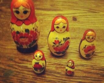 Classic Russian Nesting Dolls