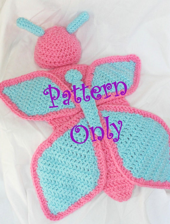 PATTERN Crochet Baby Butterfly Cape and Hat for Newborn Baby