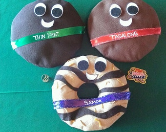 Girl Scout Cookie Buddies for bling/decor