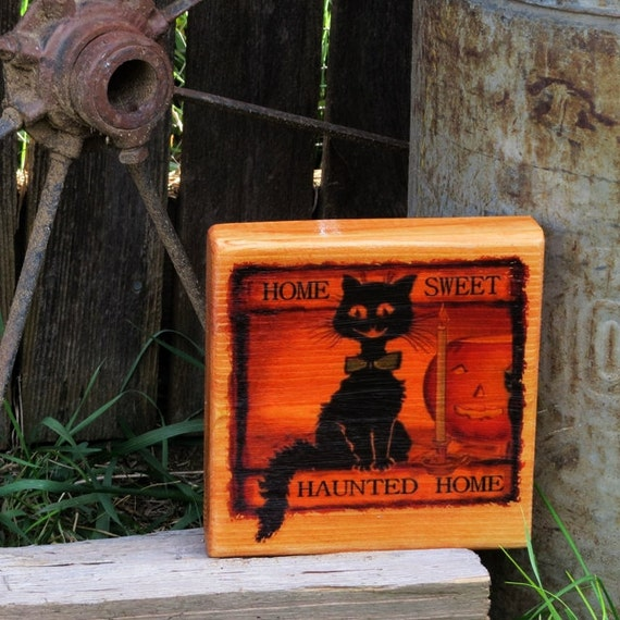 Home Sweet Haunted Home Sign