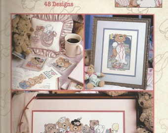 Cross-stitch Book: The Big Book of Teddies 48 Designs (Out of print)