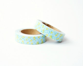 "Fabric Tape ""Yellow Flowers"""
