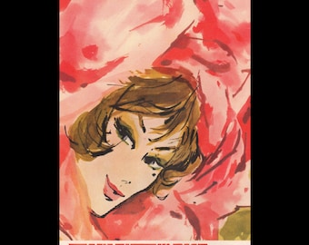 Vogue magazine ad for Tussy Autumn Rose lipstick, matted - Beauty0288