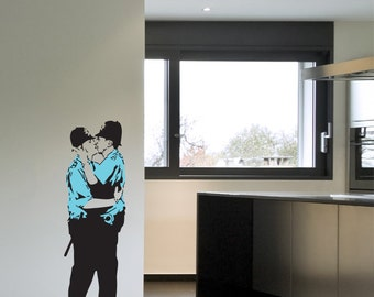 Banksy Police Wall Decal