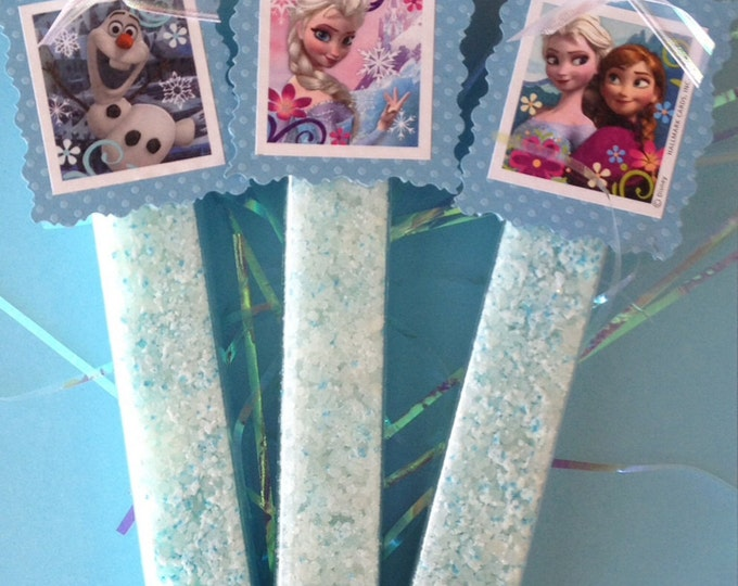 Frozen Inspired Ice Crystals and Snow Powder Scented Bath Salts