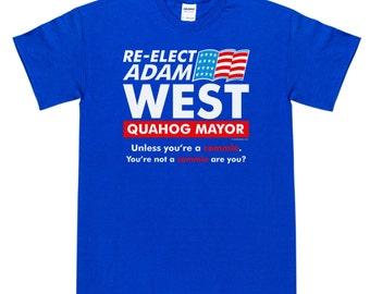 Re-Elect Adam West T-Shirt