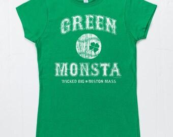 Womens Green Monsta T Shirt