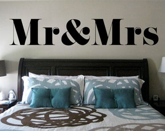 Bedroom wall decal | Etsy