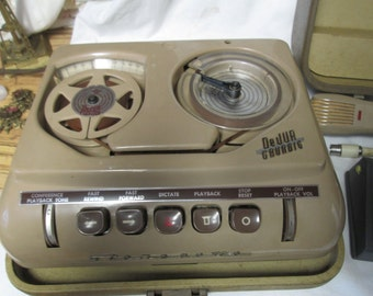Vintage Grundig Stereoette Tape player Germany Mid Century