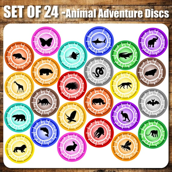 Geeky image for wild kratts creature power discs printable