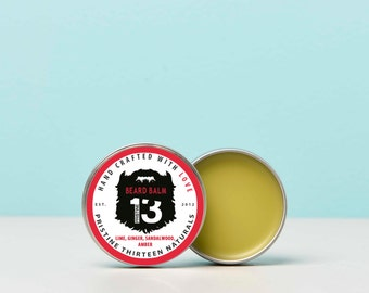 Lime, Ginger, Sandalwood and Amber Beard Balm