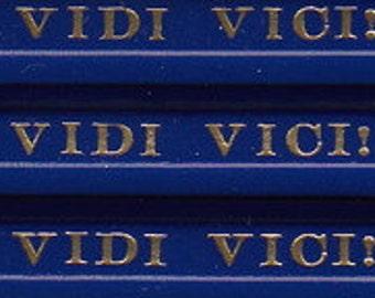 VENI VIDI VICI! pencils