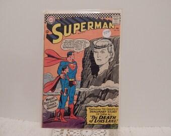 super man rare Vintage Comic book, the death of Lois lane!