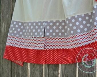 CUSTOM Pleated Crib Skirt