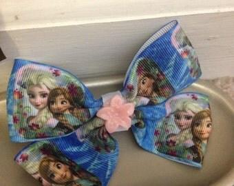 FREE SHIPPING!!! OOAK!!! Princess Flower Hair Bow 18