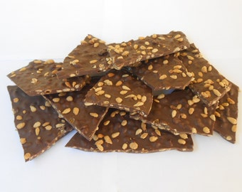 Buttered Toffee Sunflower Seed Bark