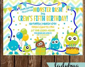 Monster Bash Invite
