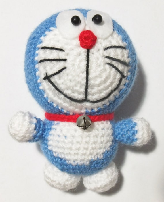 Doraemon amigurumi by Ganchilleandoypunto on Etsy
