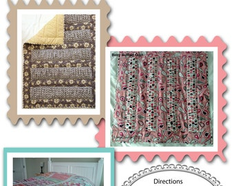 Digital Pattern:  Alexia Ruffled Lap, Crib, Baby