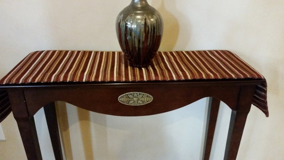 Gold And And Burgundy Sofa Table Runner By Katekins On Etsy