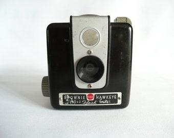 Vintage Kodak Brownie Hawkeye Camera Flash Model