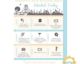 Printable Itinerary for Any Vacation! Couples Getaway, Family Vacation Itinerary, Trip Itinerary, Traveling Essentials