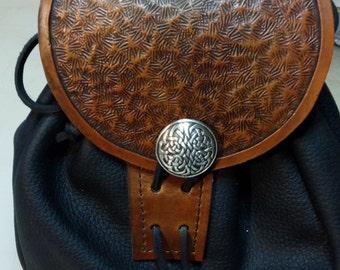 leather sporran pouch