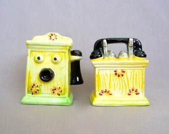 Telephone Salt and Pepper Shakers