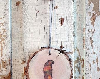 Bear Wood Ornament