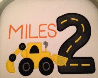 Birthday Backhoe/Bulldozer