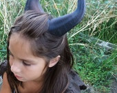 BEST SELLING! Classic Young Maleficent Inspired Horns  3D Printed  choose your color comic-con