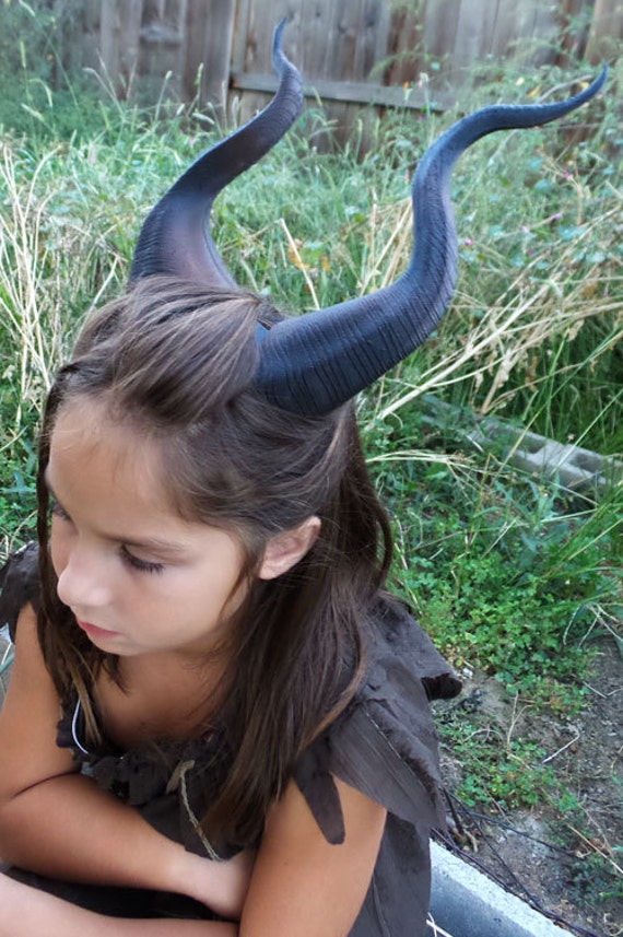 Best Selling Classic Young Maleficent Inspired Horns 3D-4584