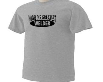 World's Greatest Welder Torching Welding Occupational T-Shirt
