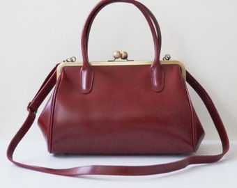 Leather Handbag Sophie, Ladies Bag, Vintage bag, leather bag, shoulder bag, genuine leather, purse
