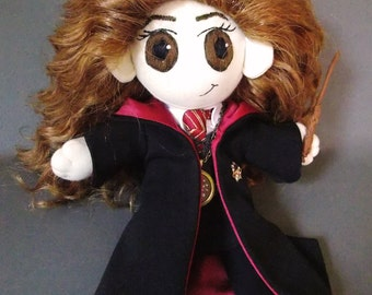 READY TO SHIP Hermione Granger Plush Doll Plushie Toy