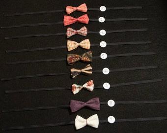 Bowties (tie on)
