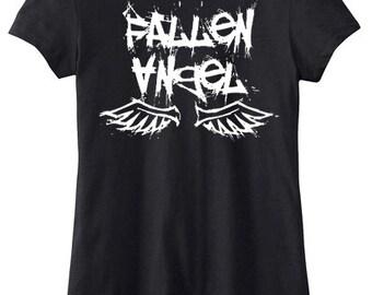 Fallen Angel Shirt pastel goth tee gothic lolita t-shirt creepy cute gothic graphic tee alternative clothing punk