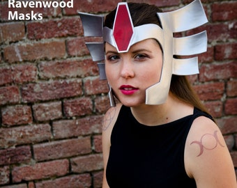 Lady Sif cosplay costume leather headdress - Made to Order