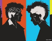Silhouette Illustration - The Films of David Fincher