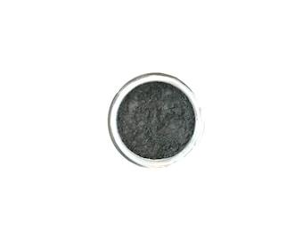 Graphite - Medium Gray Vegan Mineral Eyeshadow - Handcrafted Makeup