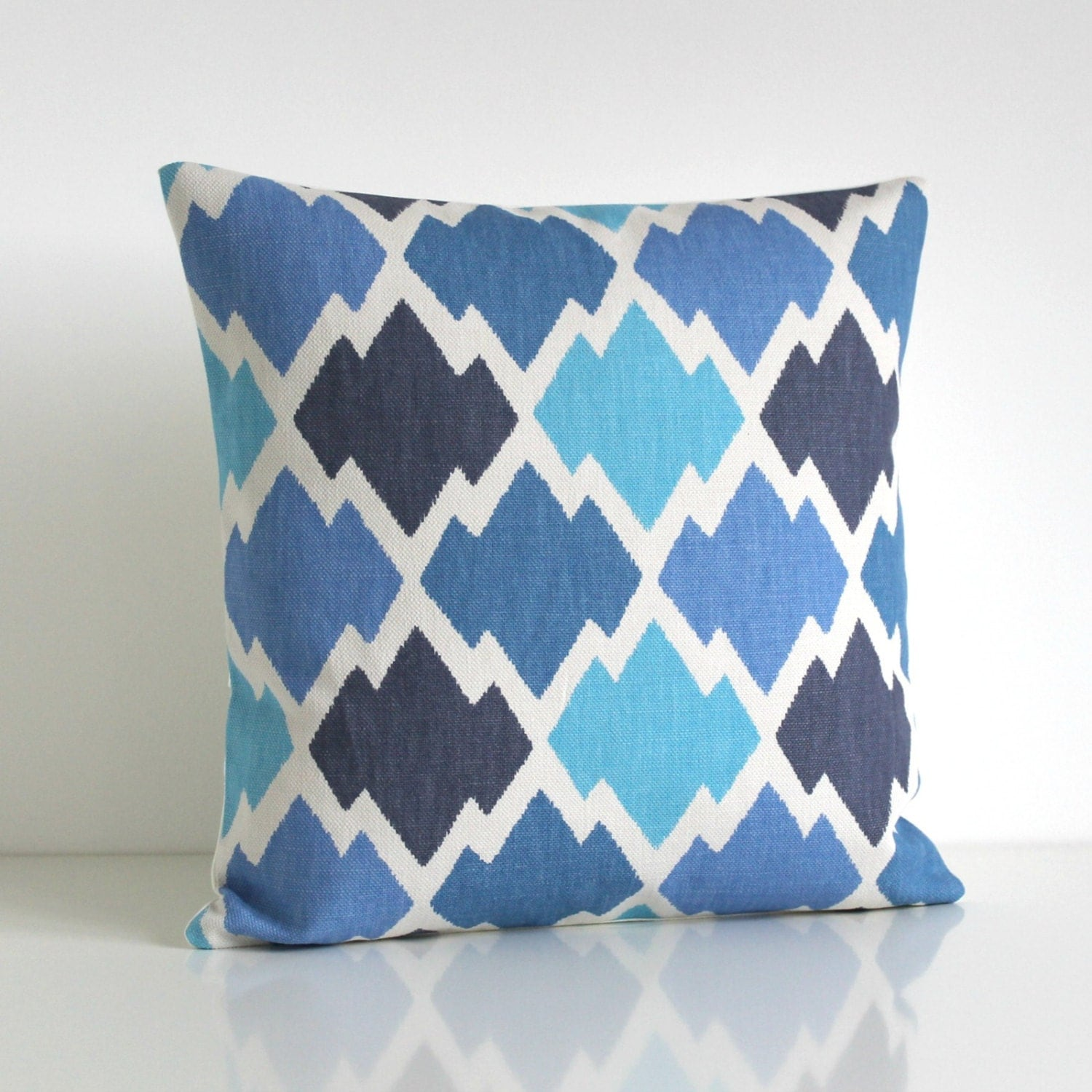 Ikat Throw Pillow Covers : Ikat Pillow Cover 16x16 Throw Pillow 16 Inch Ikat by CoupleHome