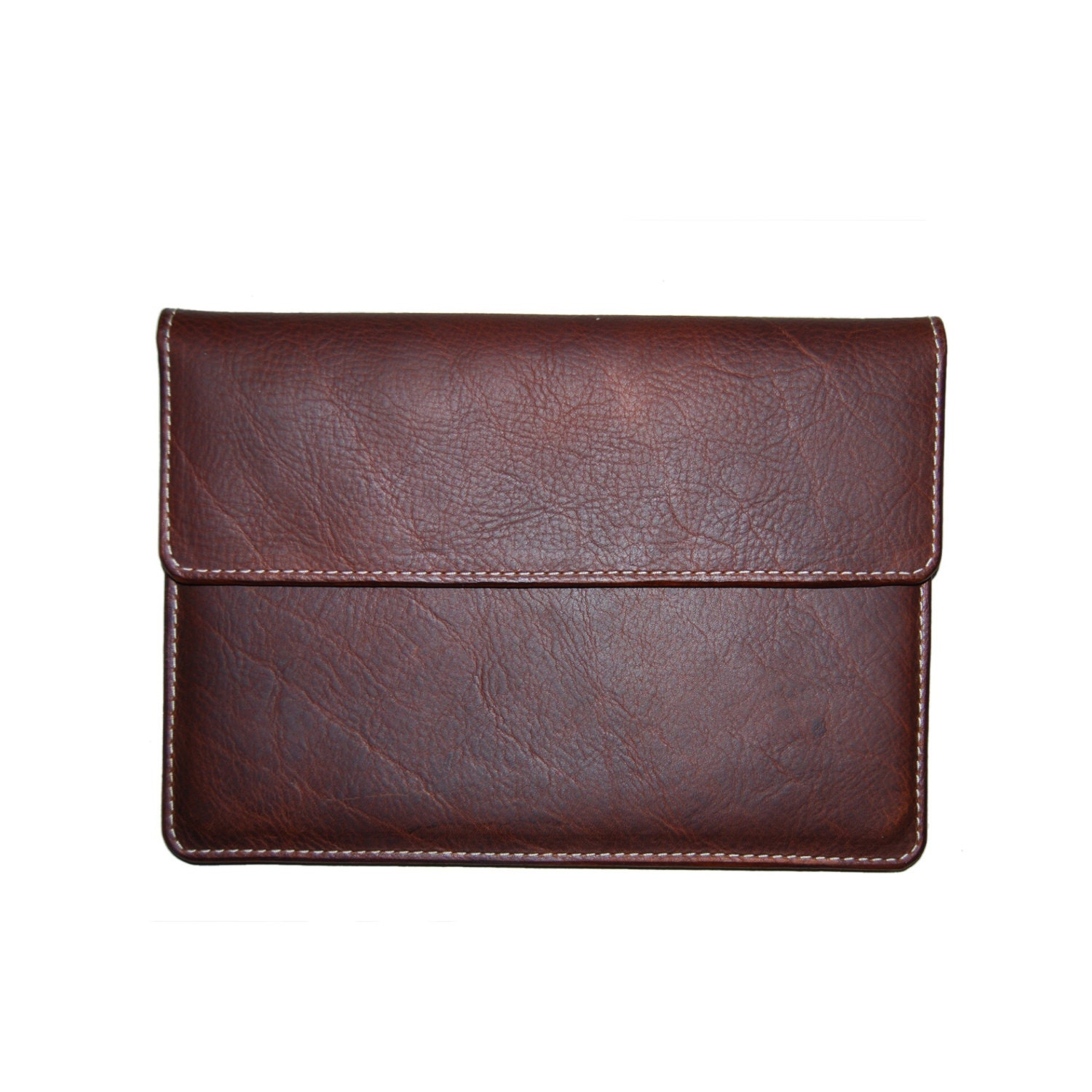 oil tanned leather ipad air 2 case sleeve holder by chiquefabrique