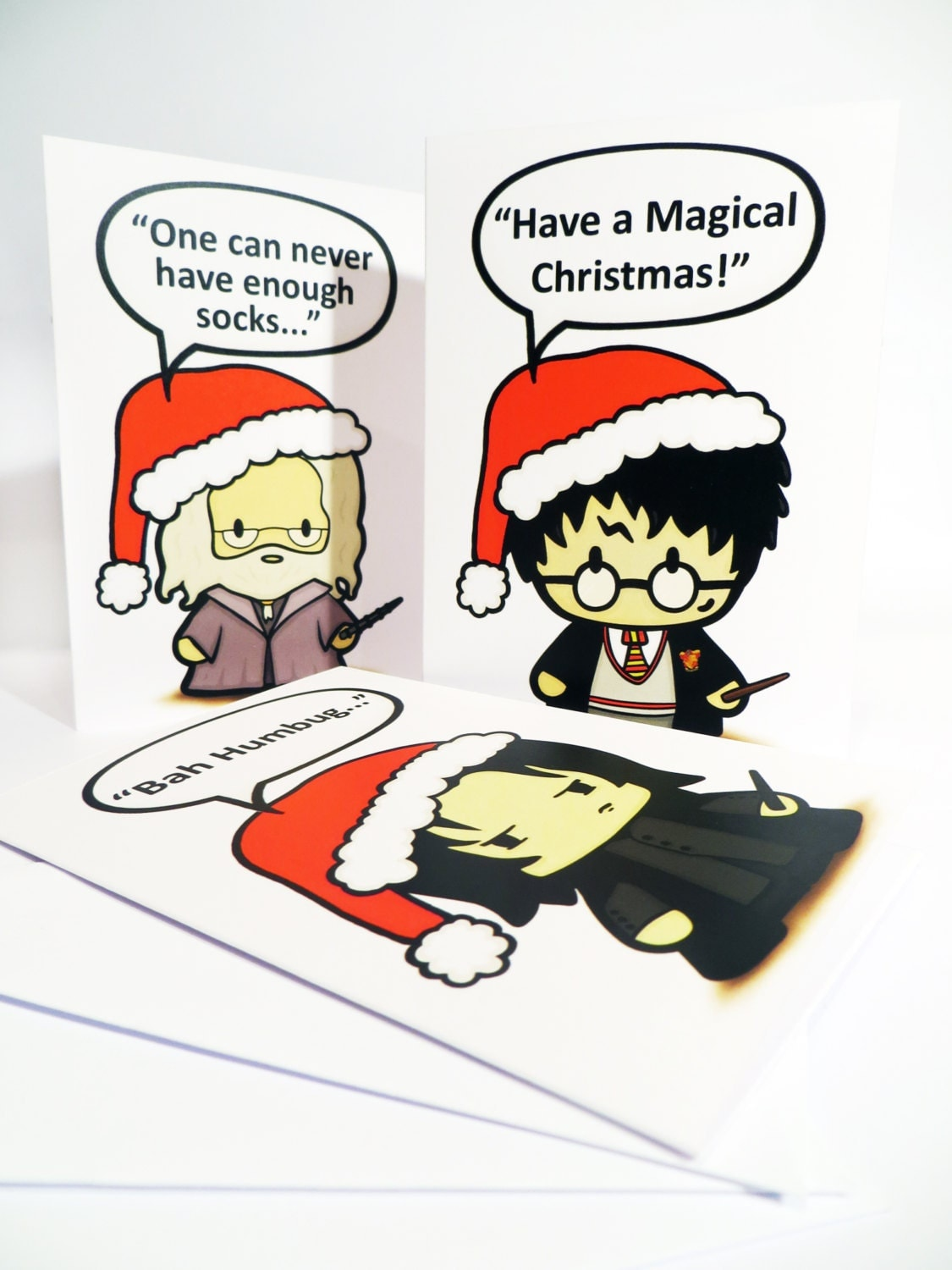 Wizard Harry and Friends Christmas Cards