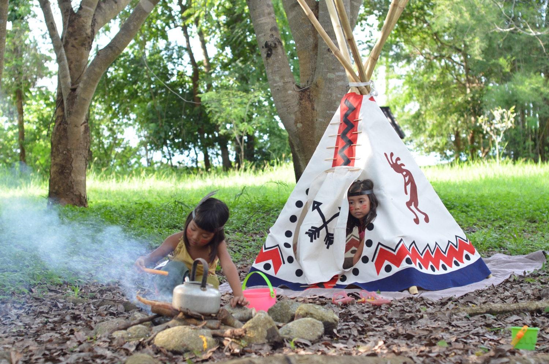 Hand painted Teepee / Wigwam / Tipi / Tent / Indoor Outdoor