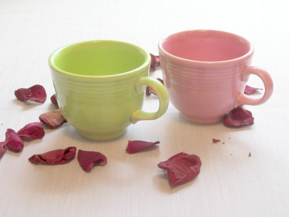 Vintage Fiesta Cups