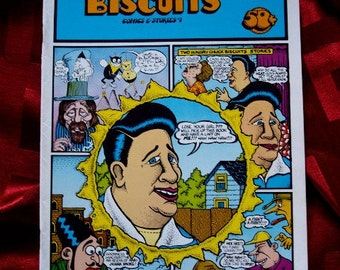 Hungry Chuck Biscuits #1 1971 Sanppy Sammy Smoot Crumb Kinney Lynch Williamson Beck Kitchen Underground Comix ADULT Comic