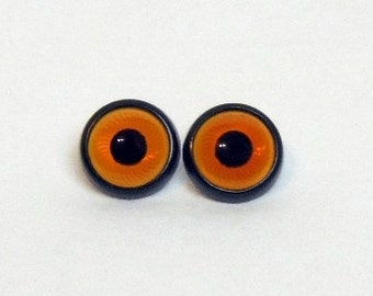 Plastic safety sewing owl eyes 12, 14, 17 mm